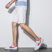 【2件1折29.9元】唐狮夏季新款牛仔短裤男士五分裤薄款宽松牛仔中裤男韩版潮