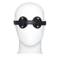 夫妻性爱游戏蒙眼罩遮挡皮革情趣眼罩SM调情用品另类情趣玩具GA