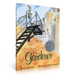 顺丰发货 The Gardener小恩的秘密花园 园丁 1998年凯迪克银奖 作者Sarah Stewart集中渲染了