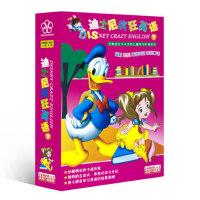 正版迪士尼疯狂英语幼儿童巧学阶梯英语口语光盘早教动漫dvd碟片