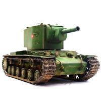 KV-2坦克世界军事战车小号手拼装模型1/35重型坦克二战前苏联