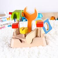 仿真工具箱动手拆装男孩玩具2-3-4-5岁儿童木质