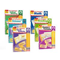 Evan Moor Skill Sharpeners Grade 6 美国加州小学六年级练习册 技能铅笔刀系列 Read