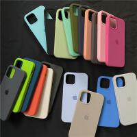 ins风iphone11液态硅胶手机壳12promax半包mini防摔软壳xsmax适用苹果xr全包xs情侣se2纯色7