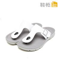 达芙妮集团 鞋柜夏季新款夹脚凉拖鞋防滑休闲沙滩鞋男凉鞋