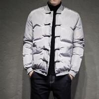 中国风棉衣男士外套冬季袄子加厚保暖刺绣面包服男装棒球服潮
