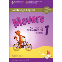 剑桥官方少儿英语YLE等级二级考试 Cambridge English Movers 1 for Revised Exam from 2019 模拟考试真题集