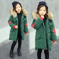 女童棉衣新款韩版加厚中长款羽绒韩国儿童棉袄冬季外套潮