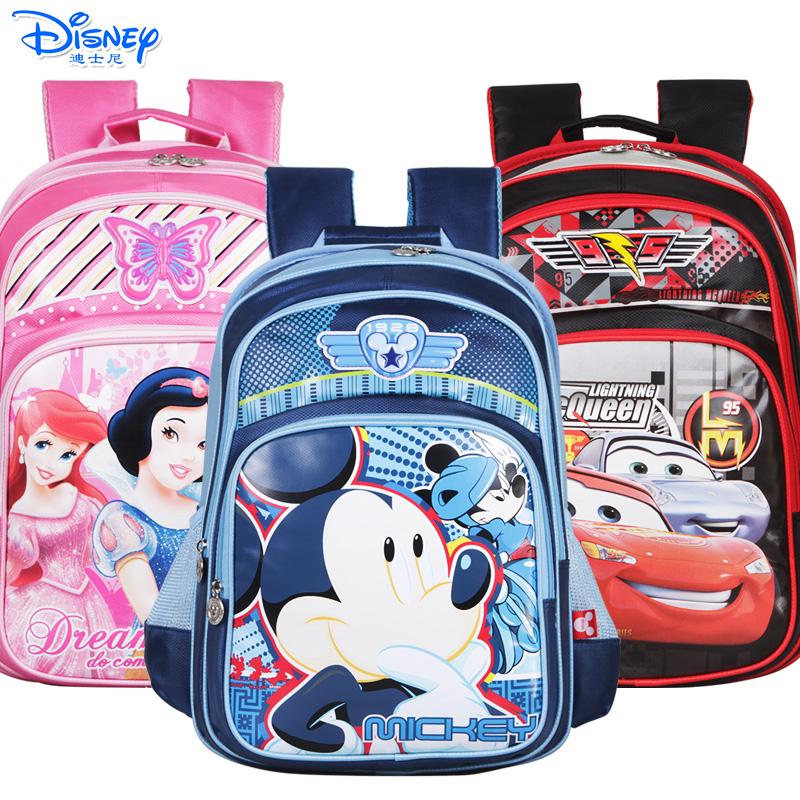 迪士尼(Disney)儿童小学生2-5年级双肩减负卡通书包 SM11165