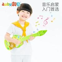 澳贝萌鸡小队尤克里里吉他琴弹唱玩具