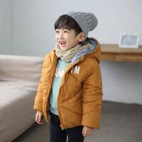 2017冬季新款儿童加棉韩版棉衣宝宝男女童中小童手塞棉童装潮