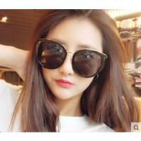 韩版圆脸遮阳墨镜大圆框太阳镜潮 户外太阳眼镜女士墨镜防晒遮阳镜