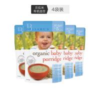 【网易考拉】BELLAMY'S 贝拉米 婴儿有机燕米糊 5个月以上 125克 4袋装