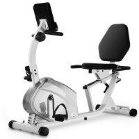 健身车家用静音磁控动感单车卧式康复脚踏车中老年人健身器材