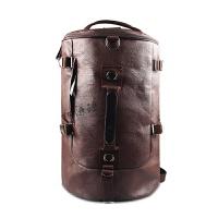 双肩包潮 复古帆布男士背包女学生书包 户外旅行大包包