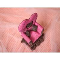 新品韩国创意芭比公主床沙发梳妆台欧式饰品盒绒布节庆礼品首饰 米奇裙边 赠送木梳子