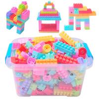 儿童大号颗粒塑料拼装积木宝宝益智拼插桶装3-6周岁男孩女孩玩具