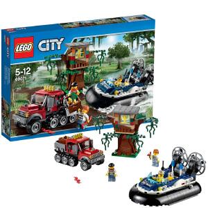 [当当自营]LEGO 乐高 CITY城市系列 气垫船大追捕 积木拼插儿童益智玩具 60071