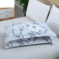枕头套 一对装枕芯罩枕芯套枕罩信封式48 74cm枕皮单人枕套 48cmX74cm