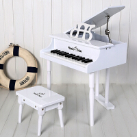 音乐之星儿童钢琴木质30键玩具小钢琴启蒙乐器早教生日礼物可弹奏