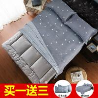 卧室加厚床垫床褥子单人双人1.5m1.8m垫褥两面方便铺床充气柔软棉SN8913