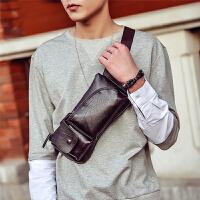 休闲韩版胸包男手机包多功能运动单肩包潮流腰包小背包时尚斜挎包