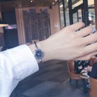 手表手镯式女开口中学生韩版简约创意学院风潮流ulzzang女生链条