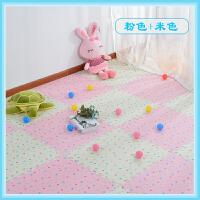 泡沫地垫拼图拼接木纹加厚家用卧室婴儿童爬行垫防摔地板垫60x60SN0372