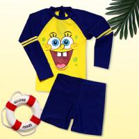 儿童泳衣男童分体泳衣女童中大童小孩宝宝游泳衣速干分体泳衣