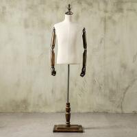 模特道具男服装店半身男士西装礼服西服橱窗展示衣架男装拍照韩版服装模特架假人展示架
