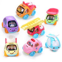 宝宝玩具车男孩回力车惯性儿童车小汽车套装