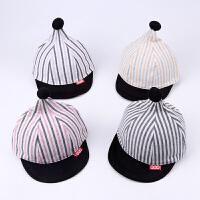 春夏宝宝鸭舌帽棒球帽透气薄婴儿帽子6-12个月潮