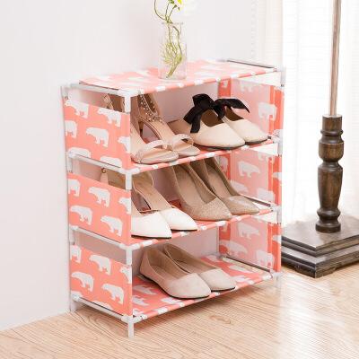 【1件3折 领券】多功能塑料组装鞋架 客厅鞋子收纳架 创意鞋架子 支持* 破损免费补发