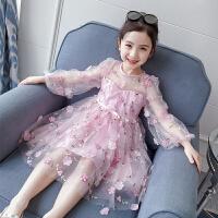 女童连衣裙2020新款儿童蓬蓬纱裙子女宝宝童装夏装公主裙春装