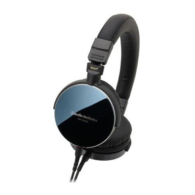 铁三角(Audio-technica)ES770H  ATH-ES770H 耳帽镜面外壳,便携HIFI头戴式耳机