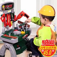 儿童过家家工具箱玩具螺丝刀维修理工具台3-4-56岁男孩子宝宝套装