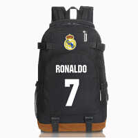 AOTU 皇马c罗7号 J罗10号 足球迷双肩包背包书包定制礼物