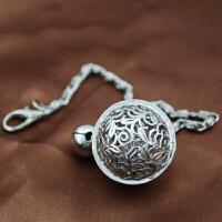 宫铃手链钥匙扣女士款情银时尚