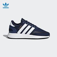 【到手价:419.4元】阿迪达斯(adidas)童鞋三叶草经典鞋休闲鞋男大童运动鞋AC8543 学院藏青蓝
