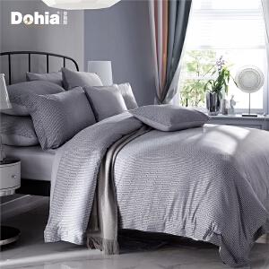 多喜爱家纺新品提花四件套欧式大提花床品被套床单爱德格