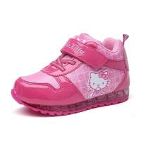 hellokitty童鞋女童棉鞋儿童运动鞋秋冬季新款保暖加绒小童潮K6450DD977