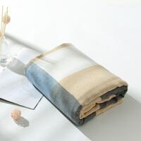 毛巾被竹纤维盖毯夏季三层冰丝毯纱布单人空调毯双人夏天盖的凉毯