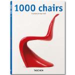 现货TASCHEN原版1000 Chairs 1000个椅子产品设计 椅子设计1000例家具设计艺术画册