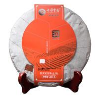 七彩云南茶叶普洱茶 润生饼 357g