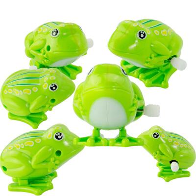 小孩玩具发条上链青蛙幼儿园小礼品 默认发 上链青蛙