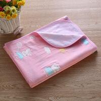 纱布隔尿垫纯棉婴儿透气可洗床垫防水超大双面宝宝儿童防漏护理垫 大号
