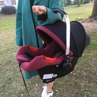 新生婴儿车载提篮 手提篮式安全座椅 汽车用宝宝便携式安全摇睡篮