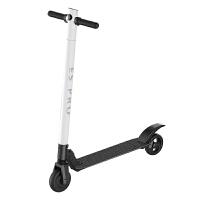 电动滑板车男 代步车可折叠超轻迷你带减震两轮踏板平衡车新品HW 50KM典藏版 磨砂白 36V