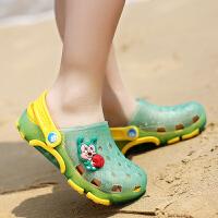 拖鞋儿童男童沙滩鞋夏季女童凉鞋大童鞋宝宝浴室凉拖鞋防滑