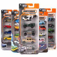 【当当自营】MatchBox火柴盒城市英雄5辆装合金小车儿童手掌车模型玩具礼物套装C1817